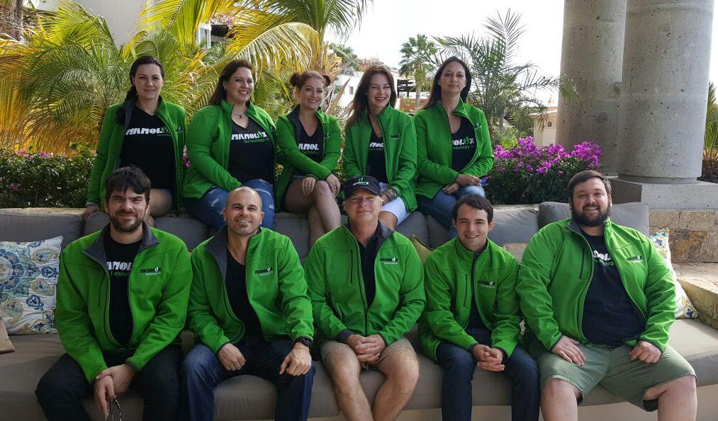 Nanoflux Team group photo